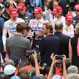 Minute de silence en hommage à Nikki Lauda avec les pilotes, Andrea et Pierre Casiraghi, Le prince Albert II de Monaco et la princesse Charlene de Monaco - People avant le départ du 77ème Grand Prix de Formule 1 de Monaco le 26 mai 2019. © Bruno Bebert/Bestimage