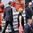 Le prince Albert II de Monaco et la princesse Charlene de Monaco - People avant le départ du 77ème Grand Prix de Formule 1 de Monaco le 26 mai 2019. © Bruno Bebert/Bestimage