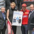 Jean Todt, la princesse Charlene de Monaco, Charles Leclerc et le prince Albert II de Monaco - People lors du 77 ème Grand Prix de Formule 1 de Monaco le 26 Mai 2019. © Bruno Bebert / Bestimage