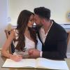 Nabilla dévoile des photos de mariage et fait une déclaration à Thomas