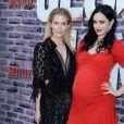 """Rachael Taylor et Krysten Ritter enceinte à l'avant-première de la saison 3 de """"Jessica Jones"""" à The Arclight dans le quartier de Hollywood à Los Angeles, le 28 mai 2019."""