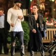"Exclusif - Emma Watson et Cole Cook (frère d'Alicia Keys) quittent le restaurant ""The Spotted Pig"" à New York, le 21 mai 2019."