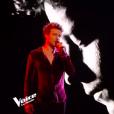 """Sidoine, Team Jenifer, lors de la finale de """"The Voice 8"""" le 6 juin 2019 sur TF1."""