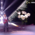 """Pierre Danaë, Team Julien Clerc, lors de la finale de """"The Voice 8"""" sur TF1."""