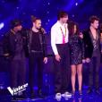 """Whitney sacrée gagnante de """"The Voice 8"""" sur TF1, le 6 juin 2019."""