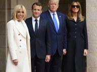 Brigitte Macron : Chic pour le D-day et restaurant étoilé avec Melania Trump