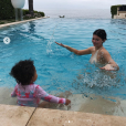 Kylie Jenner et sa fille Stormi. Juin 2019.