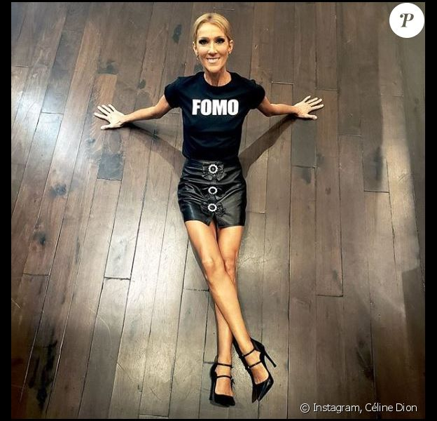 Céline Dion poste une photo d'elle qui inquiète ses followers sur son compte Instagram le 8 juin 2019.