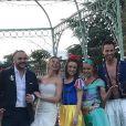 Image du mariage de François-Xavier Demaison et Anaïs Tihay, le 7 juin 2019, partagée par Elsa Zylberstein dans sa story Instagram.