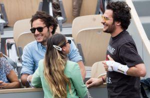 Amir et Lital : Les jeunes parents aux premières loges pour Rafael Nadal