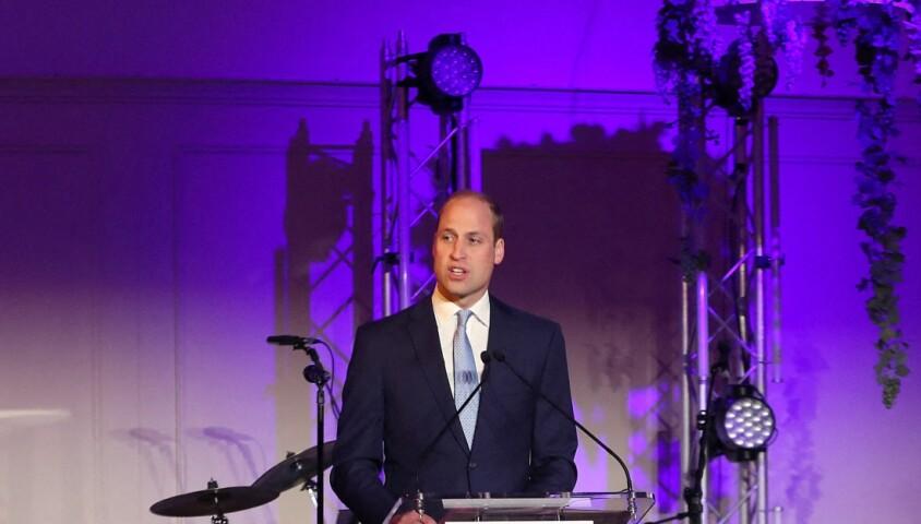 Le prince William lors du dîner de gala du 25e anniversaire de l'association Child Bereavement UK, le 10 juin 2019 à Londres.