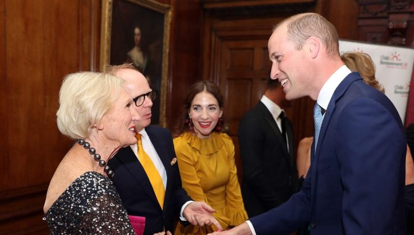 Le prince William lors du dîner de gala pour le 25e anniversaire de l'association Child Bereavement UK, le 10 juin 2019 à Londres.