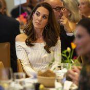 Kate Middleton : Tenue recyclée mais bijoux luxueux, un look divin