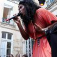 Kelly Rowland, à l'occasion de la 28e édition de la fête de la musique, à l'Hôtel de Broglie, le 21 juin 2009 !