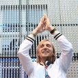 David Guetta, à l'occasion de la 28e édition de la fête de la musique, à l'Hôtel de Broglie, le 21 juin 2009 !