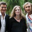 Nathalie Kosciusko-Morizet et Kelly Rowland, à l'occasion de la 28e édition de la fête de la musique, à l'Hôtel de Broglie, le 21 juin 2009 !