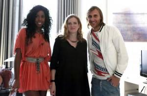 Nathalie Kosciusko-Morizet très enceinte a fêté la musique avec... Kelly Rowland, Ophélie Winter et David Guetta !