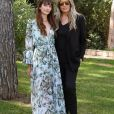Annabelle Belmondo et Tiziana Rocca au photocall du festival Filming Italy Sardegna au Forte Village Resort à Cagliari, Sardaigne, Italie, le 13 juin 2019.
