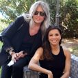 Tiziana Rocca et Eva Longoria au photocall du festival Filming Italy Sardegna au Forte Village Resort à Cagliari, Sardaigne, Italie, le 13 juin 2019.