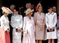 Kate Middleton, Letizia, Maxima unies en beauté pour Felipe et Willem chevaliers