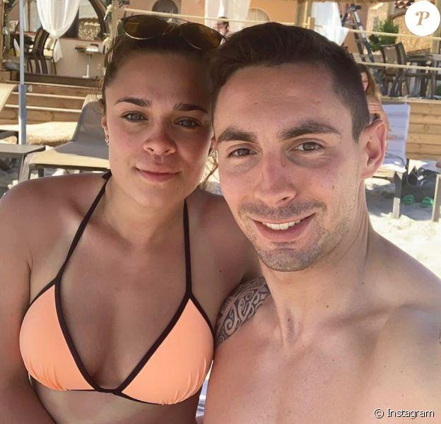 Michaël Ducruet, fils de Daniel Ducruet, et sa compagne Oriana en vacances en Corse, photo Instagram du 1er juin 2019.