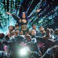 """Cardi B sur scène lors de la 7ème cérémonie des """"BET Awards"""" au Staples Center à Los Angeles, le 23 juin 2019."""