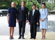 Brigitte Macron : Élégante auprès d'Emmanuel au Japon, en robes et pantalon