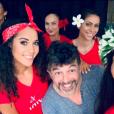 Stéphane Plaza lors de l'élection de Miss Tahiti 2019 le 21 juin 2019.