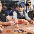 Frédéric Chau - Winamax Poker Tour, le plus grand tournoi de poker gratuit d'Europe à la Grande Halle de la Villette à Paris le 5 novembre 2016. © Pierre Perusseau/Bestimage