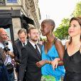 Marisa Tomei - Les invités de Zoe Kravitz et de son mari Karl Glusman arrivent au restaurant Lapérouse à Paris pour leur Pre Wedding Party le 28 juin 2019.