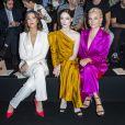 Mandy Moore, Coco Rocha, Pixie Lott assistent au défilé Schiaparelli haute couture Automne-Hiver 2019/2020 à Paris le 1er juillet 2019. © Olivier Borde/Bestimage