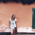 Clio Pajczer sur Instagram, le 24 mai 2017.