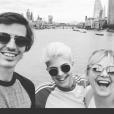 Flavie Flament fête ses 44 ans avec ses fils Antoine et Enzo, le 2 juillet 2019