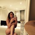 Lindsay Lohan pose nue pour son anniversaire le 2 juillet 2019.