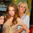 Ali Lohan, Lindsay Lohan et leur mère Dina Lohan à New York. Juin 2006.