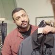 Interview du créateur de mode  Sheikh Khalid bin Sultan Al Qasimi en avril 2019.