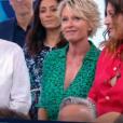 """Sophie Davant fait ses adieux à """"C'est au programme"""", le 5 juillet 2019, sur France 2"""
