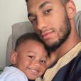 Tony Yoka et son fils Ali sur Instagram.