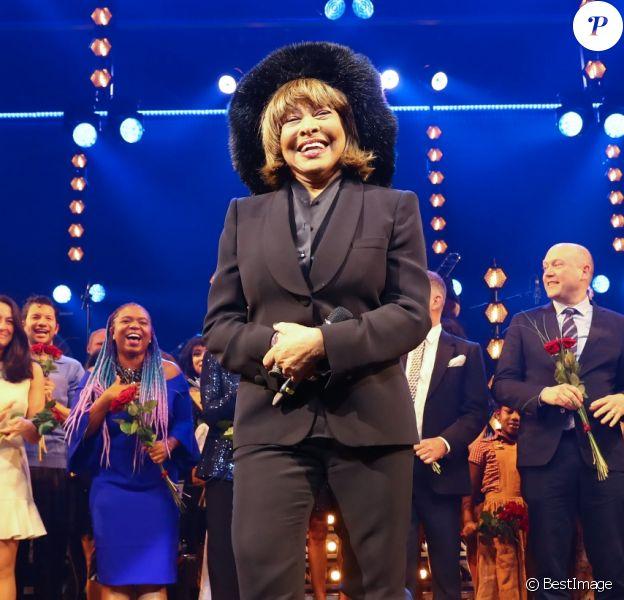 """Tina Turner assiste à la première de la comédie musicale """"Tina"""" à Hambourg en Allemagne le 3 mars 2019.03/03/2019 - Hamburg"""