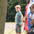 Le prince George pour le King Power Royal Charity Polo Day à Wokingham, le 10 juillet 2019.