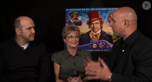"""Interview de Denise Nickerson pour les 40 ans du film """"Charlie et la chocolaterie"""", en 2011."""
