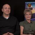 """Denise Nickerson en interview pour les 40 ans du film """"Charlie et la chocolaterie"""", en 2011."""