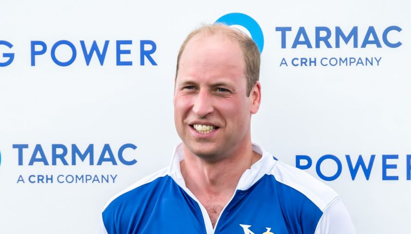 Le prince William, duc de Cambridge lors d'un match de polo de bienfaisance King Power Royal Charity Polo Day à Wokinghan, comté de Berkshire, Royaume Uni, le 10 juillet 2019.