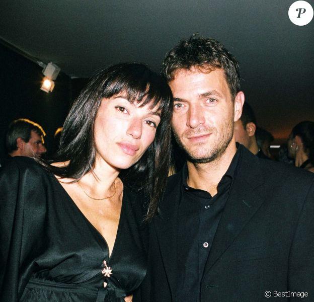 Aure Atika et Philippe 'Zdar'- Inauguration de la maison Cartier aux Champs-Élysées à Paris, le 14 octobre 2003.