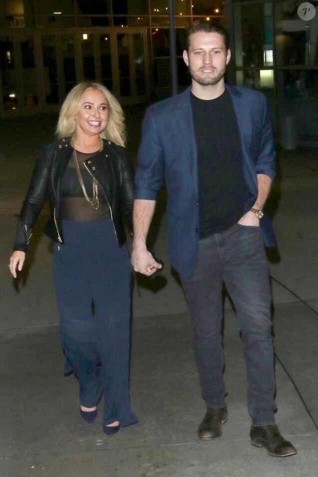 Hayden Panettiere est allée au cinéma avec son compagnon Brian Hickerson à Hollywood, le 31 janvier 2019.