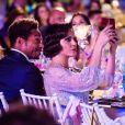 """Gary Dourdan et Lana Parrilla lors de la cérémonie de la 8ème édition du dîner caritatif organisé par la """"Fondation Global Gift"""" à Marbella, le 12 juillet 2019."""