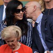 Jeff Bezos : Le patron d'Amazon et sa maîtresse très amoureux à Wimbledon