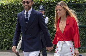 James Middleton : Sa petite amie Alizée Thevenet ose le décolleté à Wimbledon
