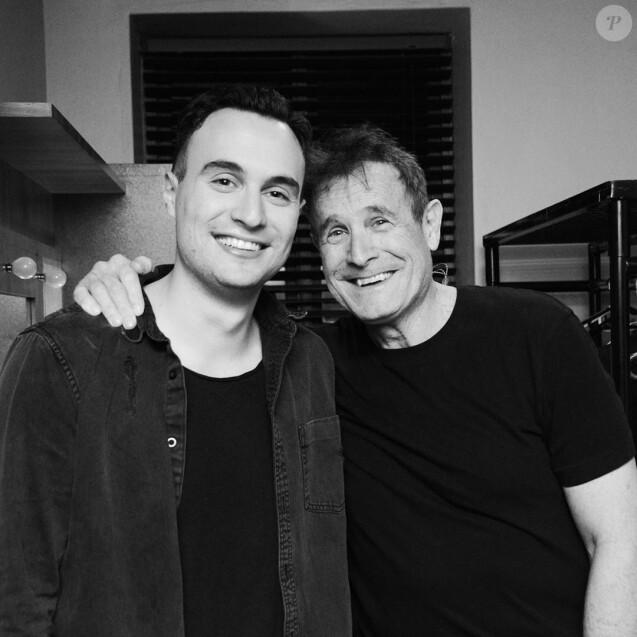 Jesse et son père Johnny Clegg - photo postée en juin 2019 sur Instagram.
