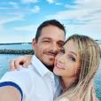 """Elodie de """"Mariés au premier regard 3"""" complice avec son chéri au Cap d'Agde, le 22 juin 2019"""